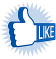 Like Thumbs Up vector image
