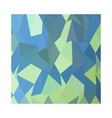 Lime Green Pastel Blue Abstract Low Polygon vector image