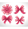 Ribbon digital design vector image vector image