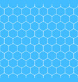 Seamless pattern hexagon honeycomb texture