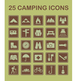25 camping icons