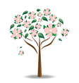 Carolina dogwood vector | Price: 1 Credit (USD $1)