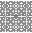 cross stitch seamless decorative pattern vector image