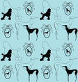 Dogs background vector | Price: 1 Credit (USD $1)
