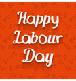 Happy Labour Day Design Card