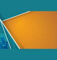 orange stripes background design vector image