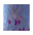 Pastel Purple Abstract Low Polygon Background vector image vector image