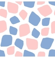 Rose quartz and serenity background mosaic vector image