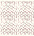 seamless pattern with icons coffe items vector image vector image