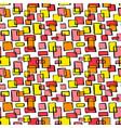 Seamless textile doodle pattern grunge texture