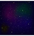 Stars Background Milky Way vector image vector image