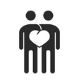 together people team love community vector image vector image
