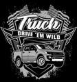 truck vector image vector image