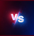 versus background vs battle competition mma vector image vector image