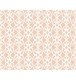 White Forged Lacing Seamless pattern on beige vector image