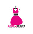 woman fashion logo design vector image