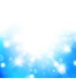 fresh glow background vector image