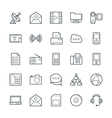 Communication Cool Icons 4 vector image