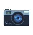 Digital photo camera isolated vector image