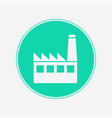 factory icon sign symbol vector image