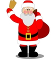 Santa Claus color 04 vector image vector image