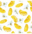 seamless pattern with slices of citrus fruit and vector image vector image