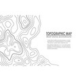 Topographic map contour background line map with