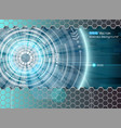 abstract futuristic glow 2 vector image vector image