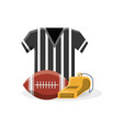 american football design concept vector image vector image