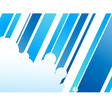Blue colored abstract corporate concept vector image vector image
