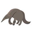 cartoon anteater an vector image