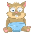 cartoon character cat vector image vector image