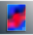gradient texture template design for background vector image vector image