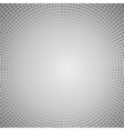 Grey Halftone Pattern vector image