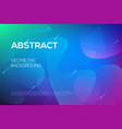 modern dynamic futuristic web design template vector image vector image