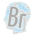 online poker tournament 1 text background vector image vector image