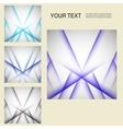 set color line elements vector image