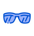 sunglasses icon outline vector image vector image