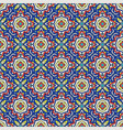 talavera oblana mexican seamless pattern vector image