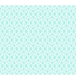 white forged seamless pattern on blue background vector image