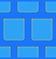 denim pocket pattern vector image