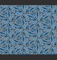 ikat tribal art print seamless african pattern