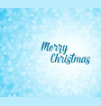 modern christmas card template vector image
