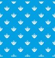mountain camping pattern seamless blue vector image vector image