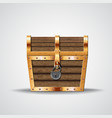 opening treasure box vector image