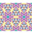 Thin Kaleidoscope Star Pattern vector image vector image