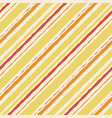 yellow pattern seamless watercolor orange striped vector image vector image