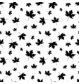 autumnal maple leaf seamless pattern vector image vector image