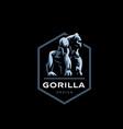 gorilla big monkey vector image vector image