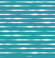 horizontal doodle lines seamless pattern vector image vector image